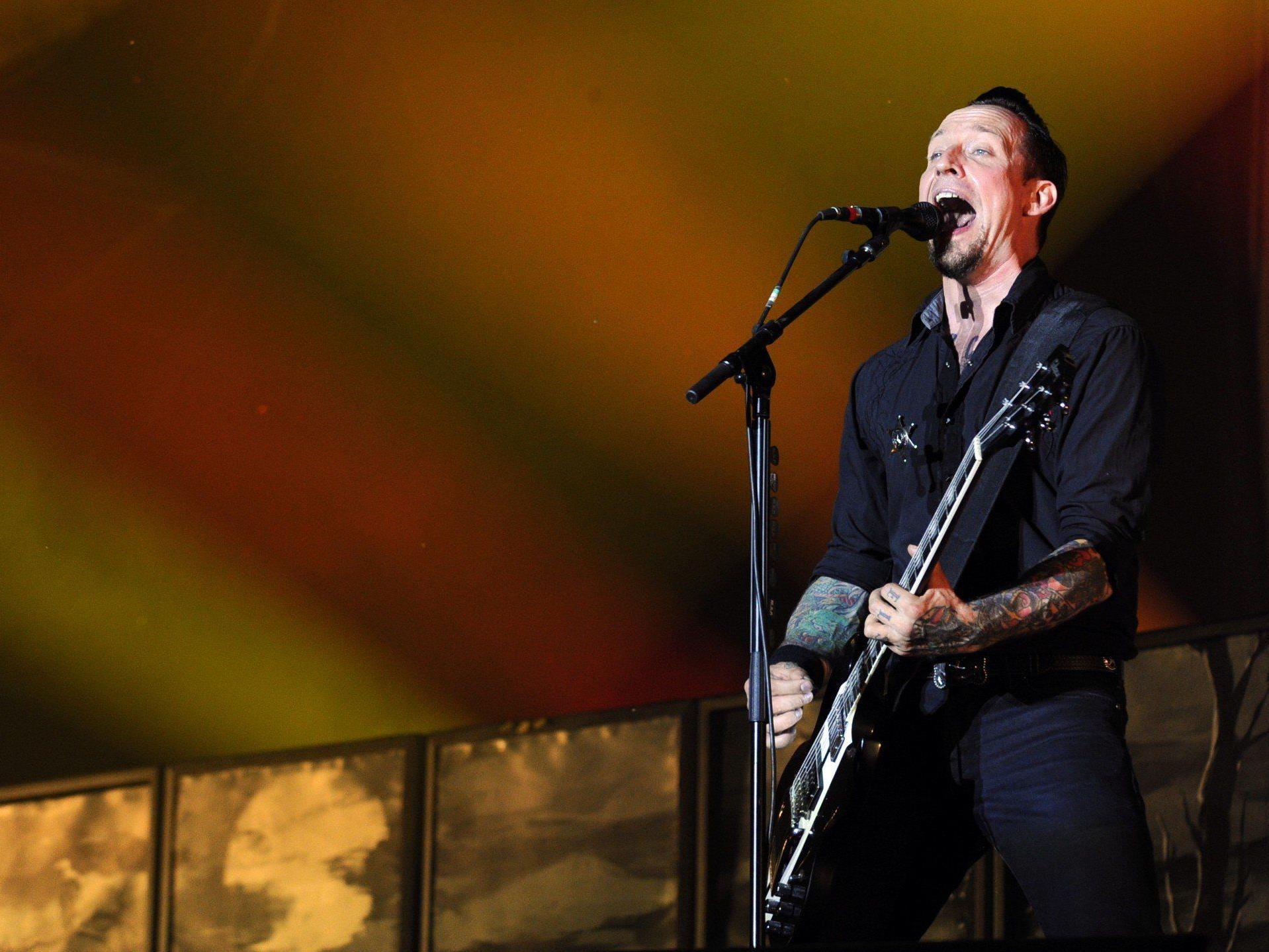 Volbeat wurden am Nova Rock gefeiert.