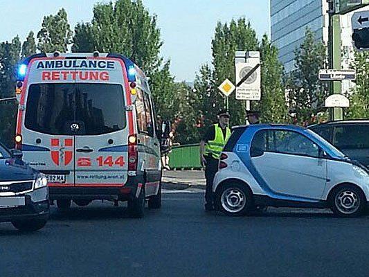 In Döbling war ein Car2Go in einen Unfall verwickelt