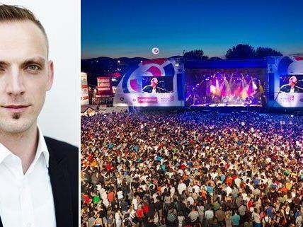 DIF-Organisator Thomas Waldner im Gespräch.