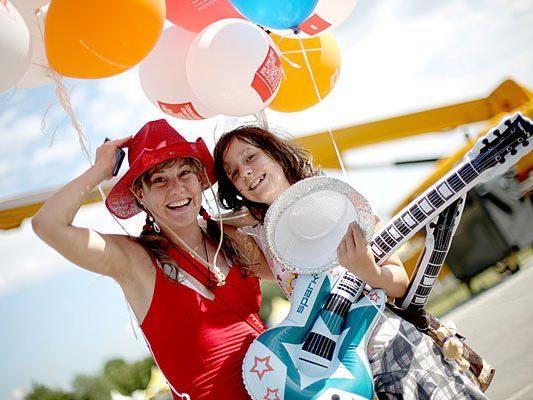 Fun für Groß & Klein verspricht das Wiener Donauinselfest