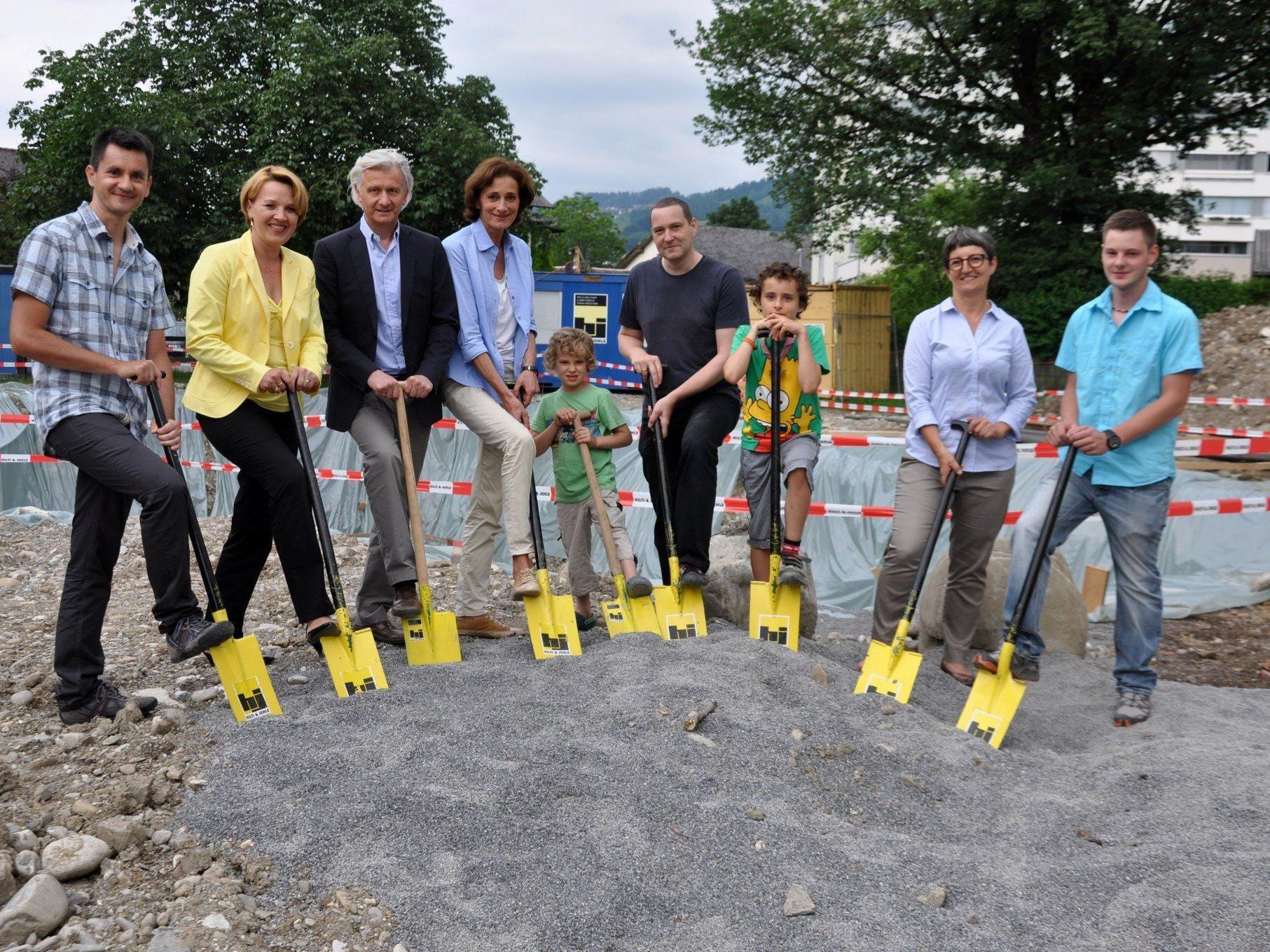 Bis September 2014 soll der neue viergruppige Kindergarten bezugsfähig sein.
