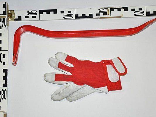 Dieses Werkzeug wurde beim Einbruch in Margareten verwendet