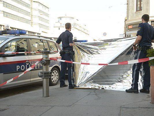 Am Tatort in Simmering