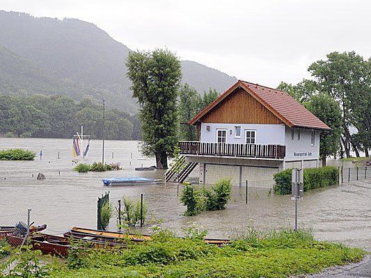 Hochwasser: So sieht es derzeit in Niederösterreich aus