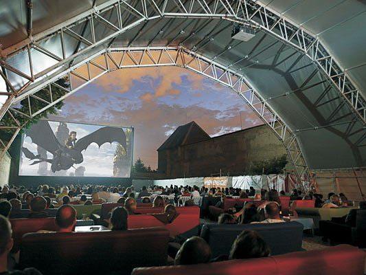 Eine tolle Atmosphäre gehört beim Kino im Schloss dazu