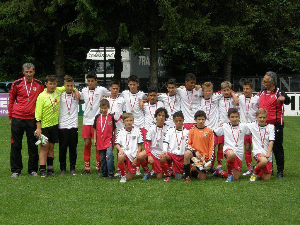 Das FC Dornbirn U13-Team