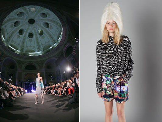 Bei der Vienna Fashion Night wird High-End-Mode unter der Miachaelerkuppel präsentiert