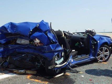 Zeri Personen wurden bei dem Unfall am Donnerstag verletzt.