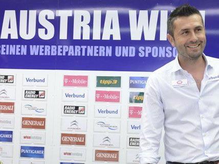 Nenad Bjelica wurde heute als neuer Austria Trainer vorgestellt.