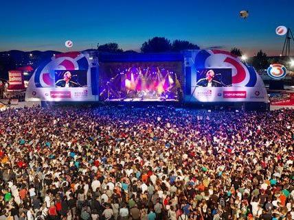 Jedes Jahr gibt es dichten Andrang bei der Ö3-Bühne am DIF.