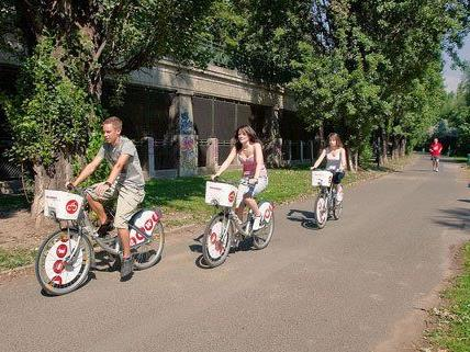Seit 10 Jahren gibt es in Wien die Leihfahrräder.
