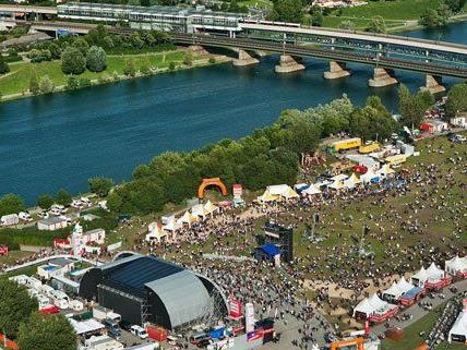 Vom 21. bis 23.6. findet in Wien das 30. Donauinselfest statt.
