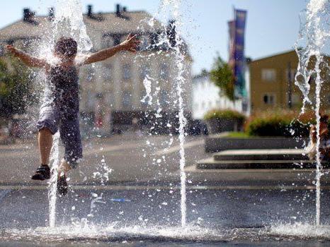 Wo können sich Spaziergänger in Wien abkühlen?