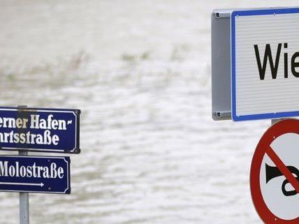 In Wien werden 31 Millionen Euro für Hochwasserschutzmaßnahmen ausgegeben.