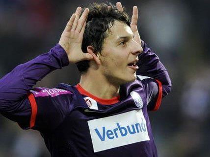 Philipp Hosiner könnte schon bald in der deutschen Bundesliga auflaufen.