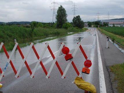 In Niederösterreich ist es erneut zu Überflutungen gekommen.