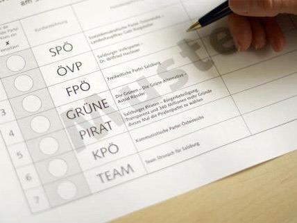 Die Vorbereitungen für die Nationalratswahl laufen bereits emsig.