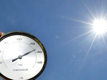 Vierlerorts lagen die Temperaturen deutlich über 30 Grad.