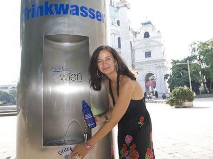 900 dieser Trinkbrunnen gibt es in Wien.