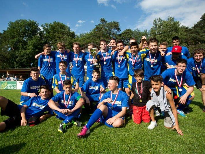 Die SG Wolfurt/Kennelbach wurde bei den Unter-17-Jährigen Landesmeister.