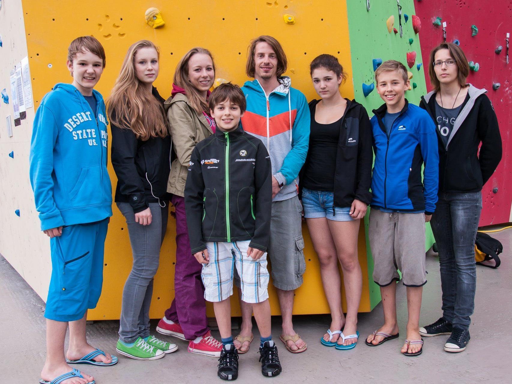 Vorarlbergs Kletternachwuchs zeigte sich bei der Staatsmeisterschaft von der besten Seite.