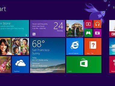 """""""8.1 ist ein veredeltes Windows 8"""" - auffälligste Neuerung: die Rückkehr des Start-Buttons."""