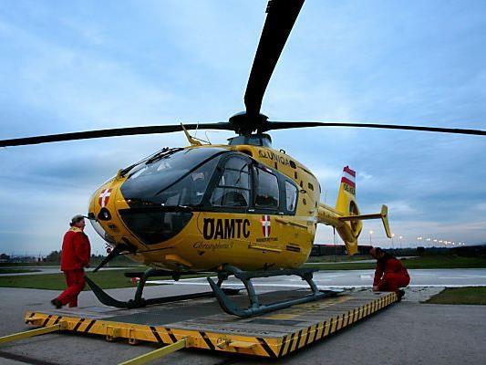 Der Schwerverletzte wurde ins LKH Graz geflogen