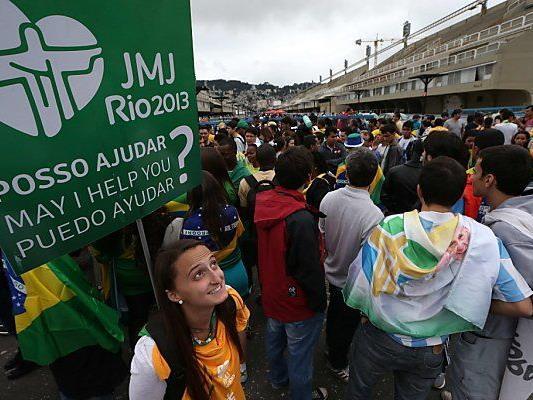 Jugendliche aus aller Welt in Brasilien erwartet