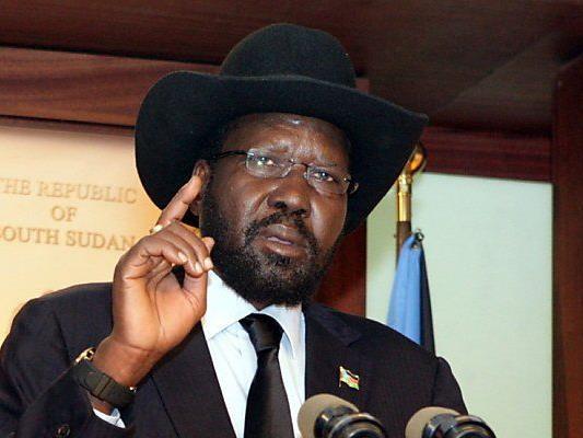 Staatschef Salva Kiir beruft sich auf Verfassung