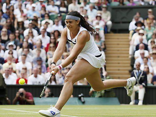 Marion Bartoli stürmte ins Wimbledon-Finale