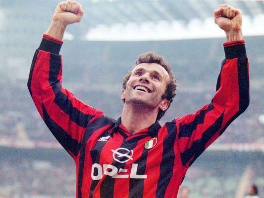 Dejan Savicevic im Dress des AC Milan