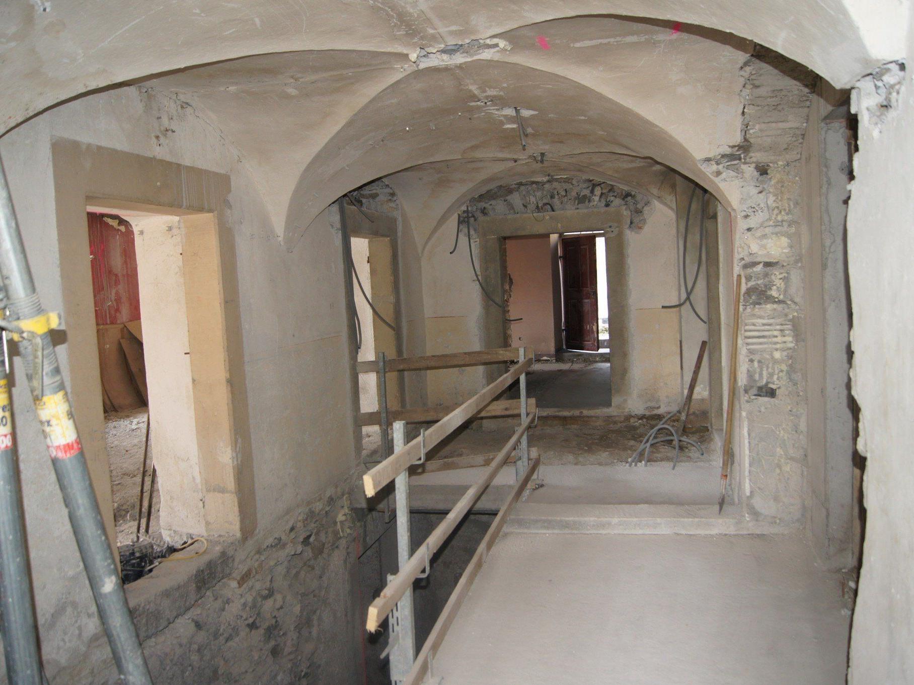 Die Bausubstanz des 1909 erbauten Wohnhauses Kirchgasse 3 bleibt erhalten. Das Innenleben wird erneuert.