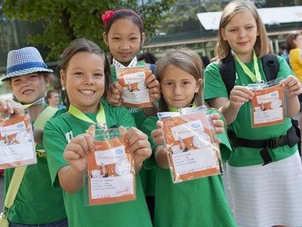 Fünftausend Kinder hatten Spaß beim Forschen und Entdecken bei der elften KinderuniWien.