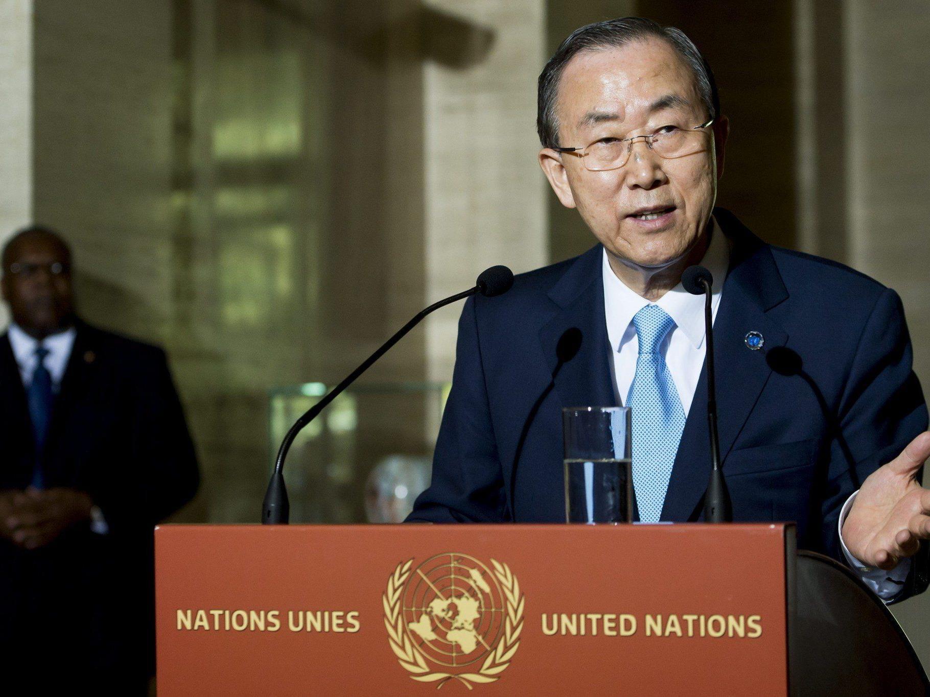 UNO-Chef Ban Ki-moon fordert die Freilassung von Mohammed Mursi. Der ägyptische Präsident wurde vor drei Wochen entmachtet.