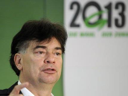 Für Werner Kogler (Grüne) ist eine Koalition mit Team Stronach ausgeschlossen.