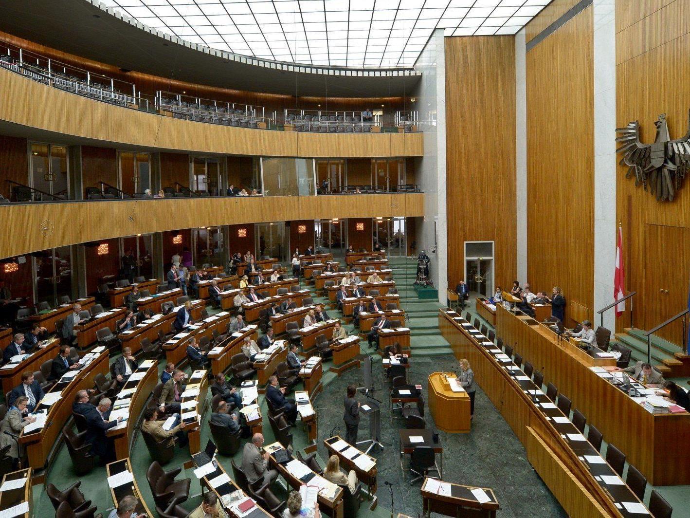 Der Frauenanteil im österreichischen Nationalrat liegt bei 29 Prozent.