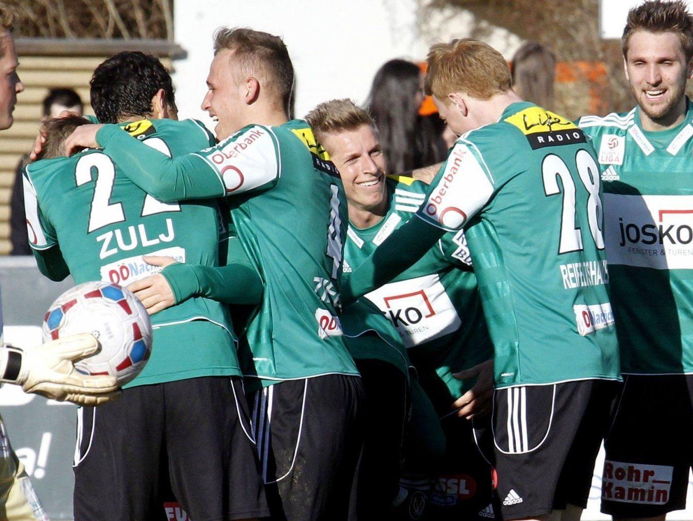 Wir berichten am Samstag ab 19 Uhr live vom Spiel SV Ried gegen WAC im Ticker.