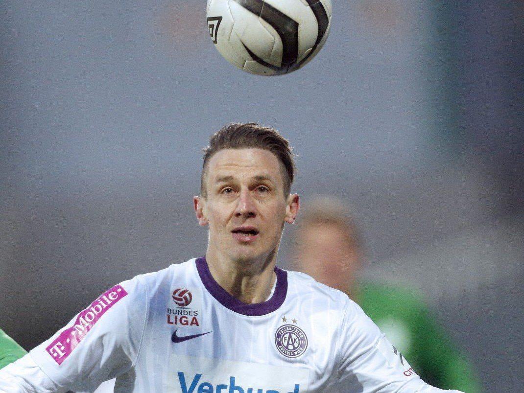 Florian Mader unterschrieb einen Vertrag bis 2015 bei der Wiener Austria.