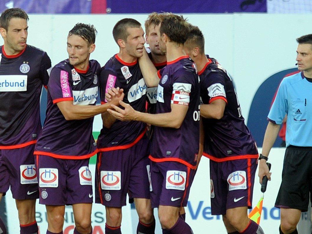Die Wiener Austria testet am 14. Juli gegen FC Everton.