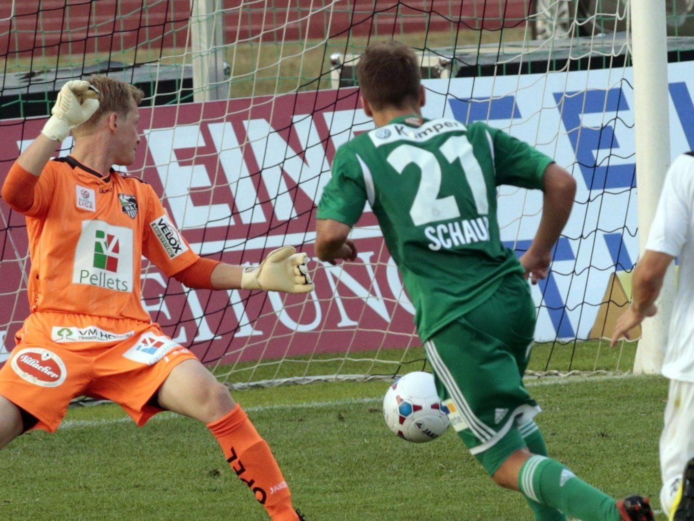 Die Stimmen zum Spiel WAC gegen SK Rapid Wien in der 1. Runde.