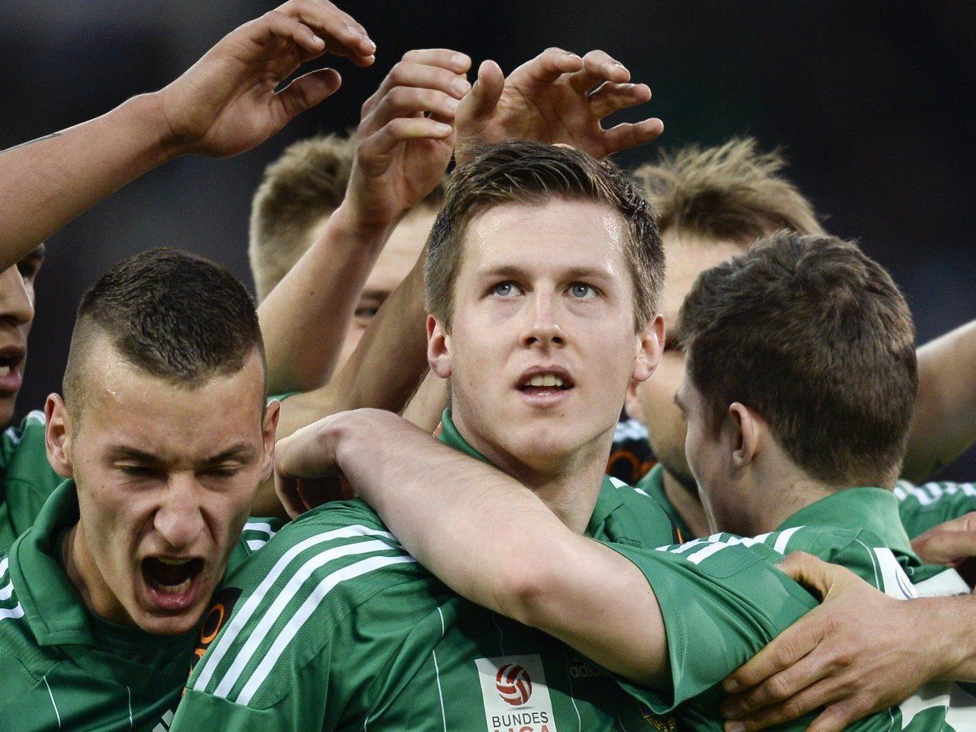 Wir berichten am Samstag ab 16.30 Uhr live vom Spiel SK Rapid Wien gegen SC Wiener Neustadt im Live-Ticker.