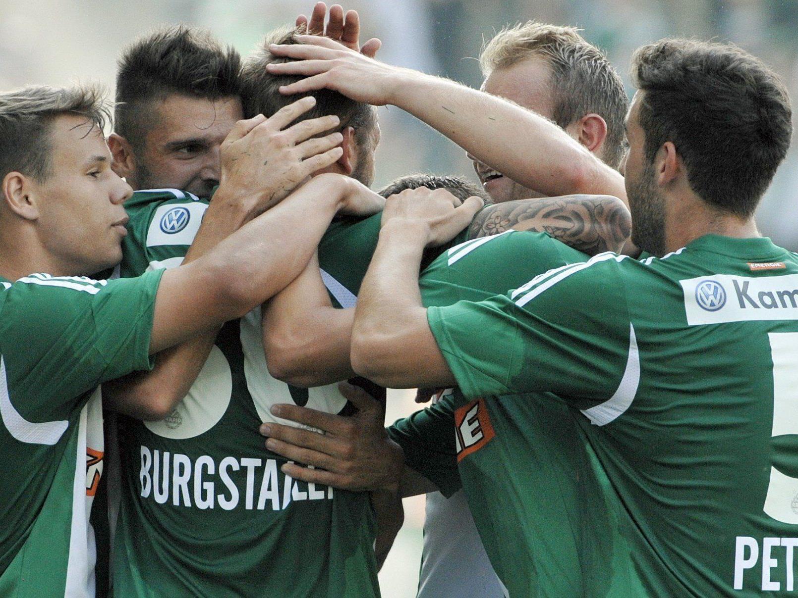 Rapid Wien trifft am Donnerstag in der EL-Qualifikation auf die Griechen von Asteras Tripolis.