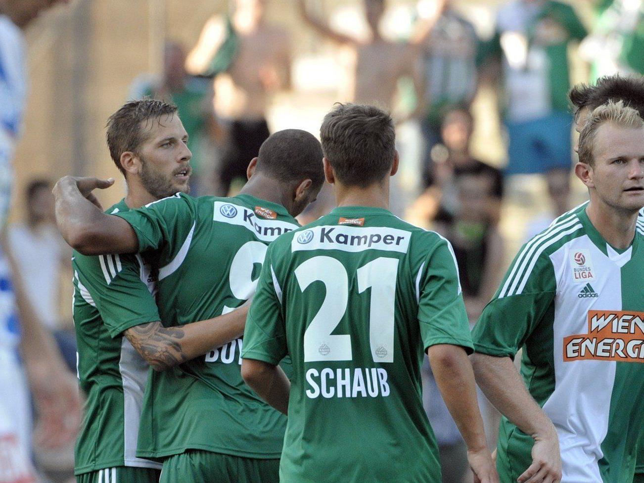 Rapid tritt am Donnerstag in der Europa League-Qualifikation gegem Asteras Tripolis antreten.