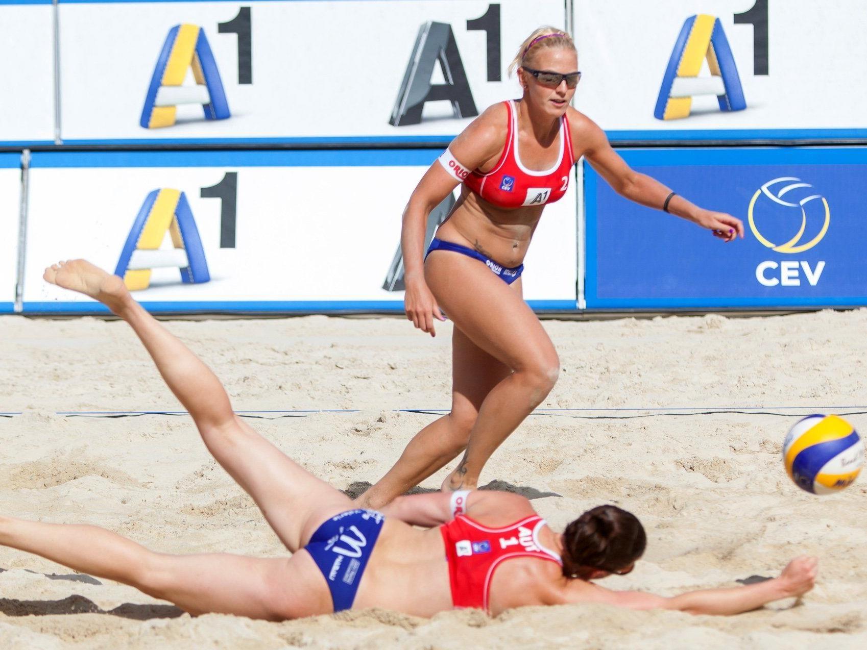 Beach-Volleball: EM-Ergebnisse 3 - Teufl/Klopf verloren 0:2