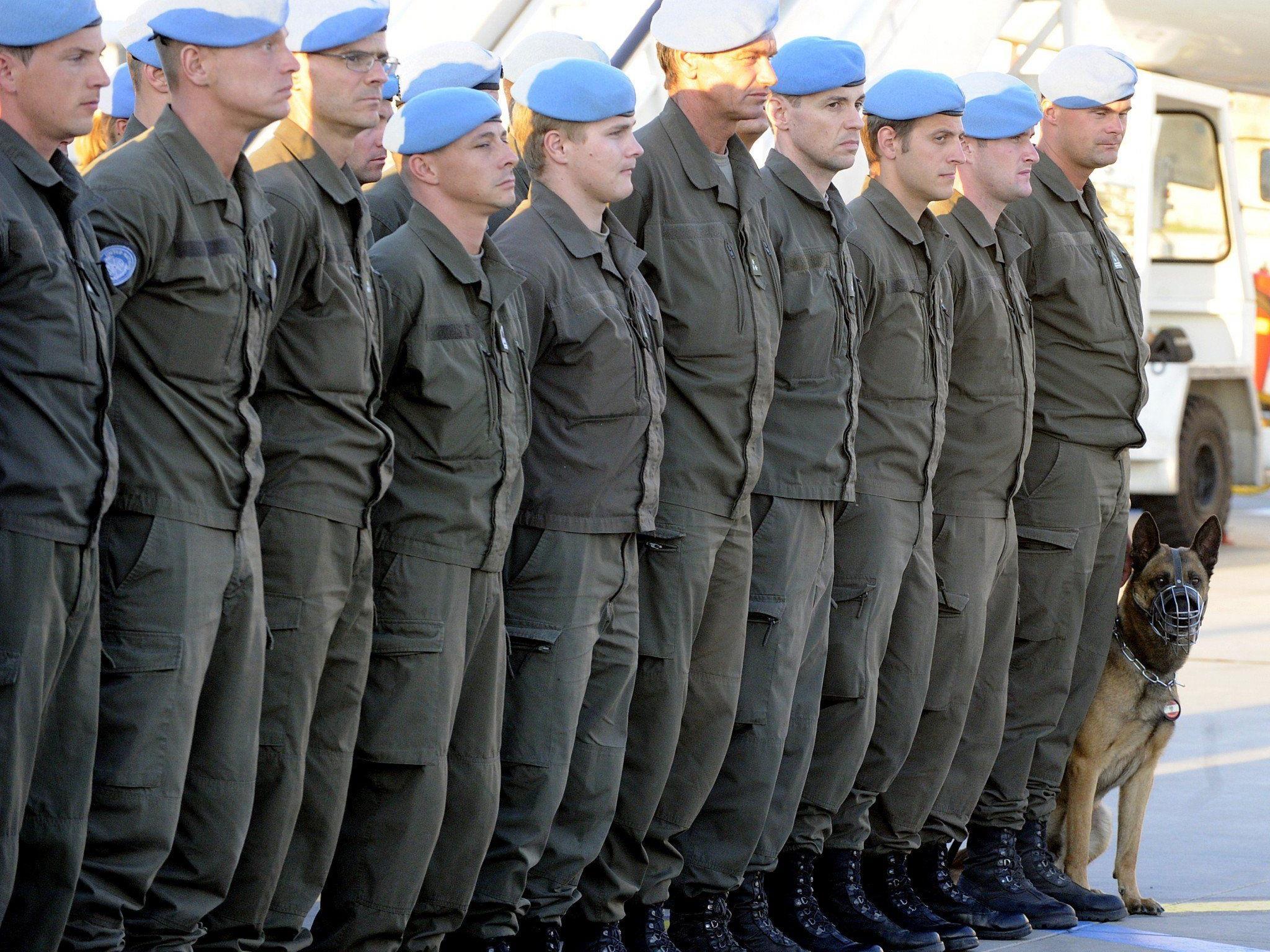 Die letzten österreichischen Blauhelme kommen am Mittwoch aus dem Golan zurück.
