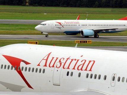 Keine Steigerung der Passagierzahlen für die AUA.