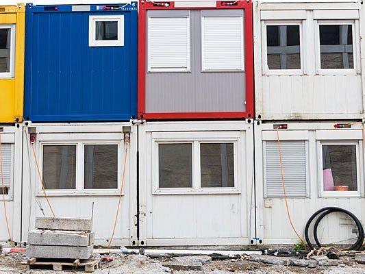 Eine Festnahme nach Einbruch in einem Baucontainer in Wien-Neubau