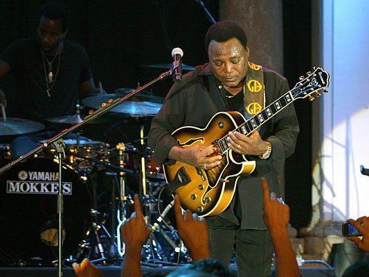 Wo immer Jazz-Musiker George Benson auftritt, sorgt er für beste Stimmung