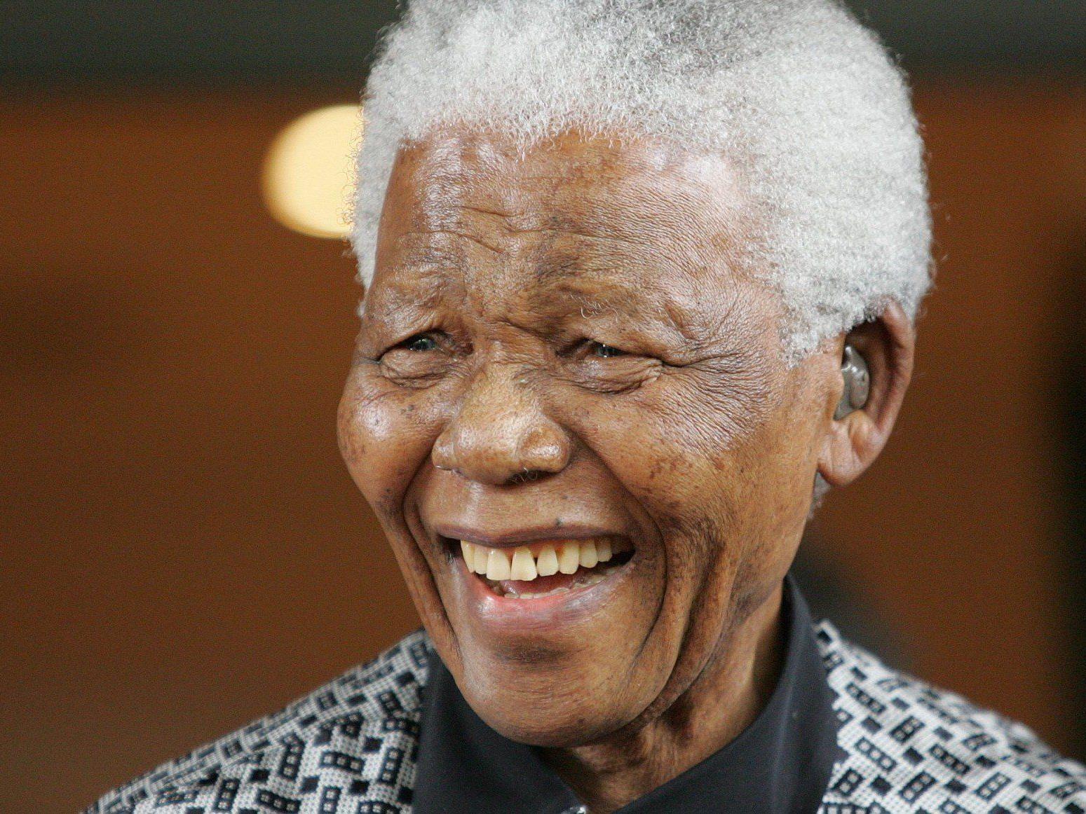 Nelson Mandela: In der UNO-City wurde eine Ausstellung zu seinen Ehren eröffnet.