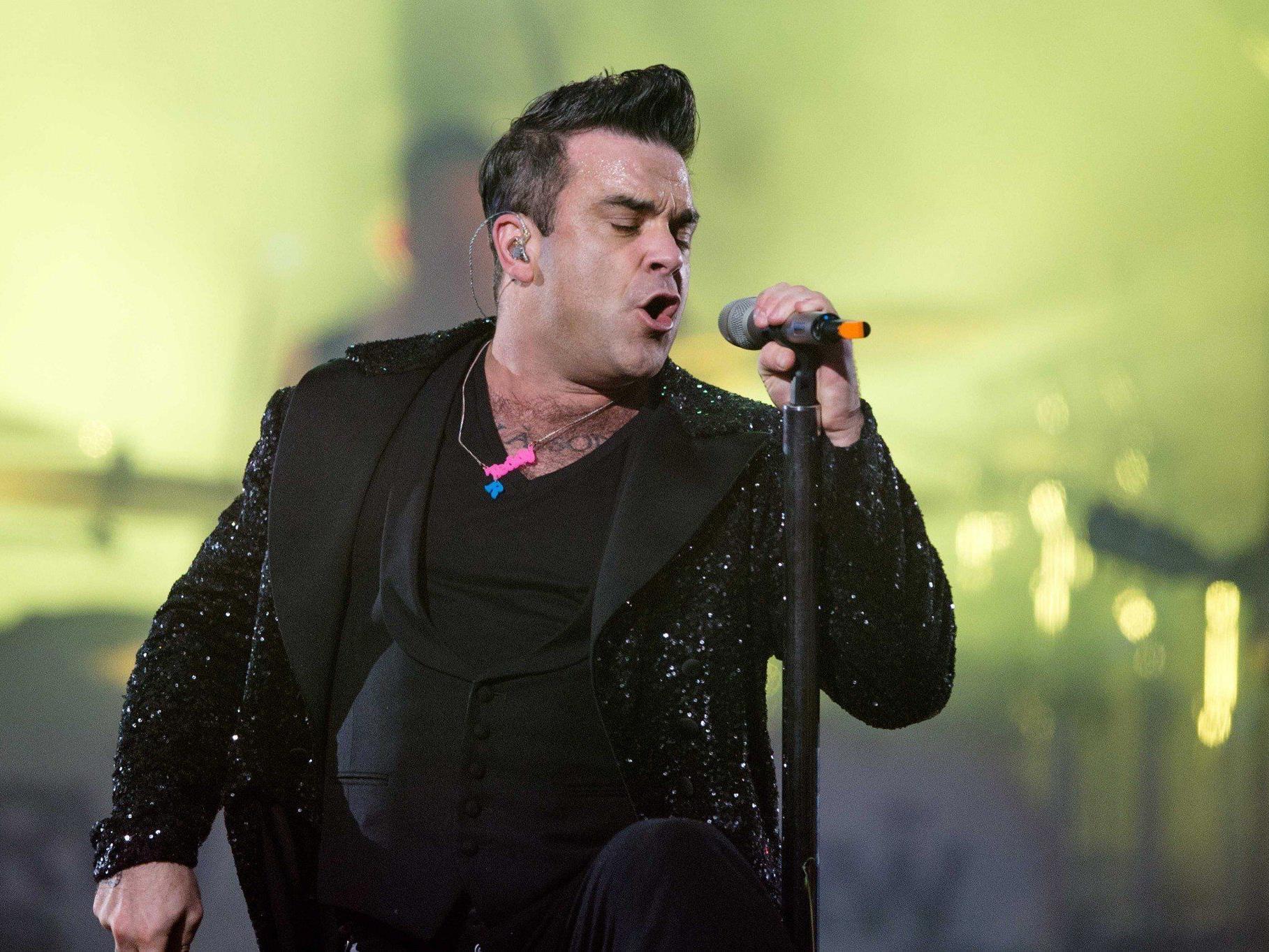 Robbie Williams live im Kino - Cineplexx überträgt das Tallinn-Konzert des britischen Superstars